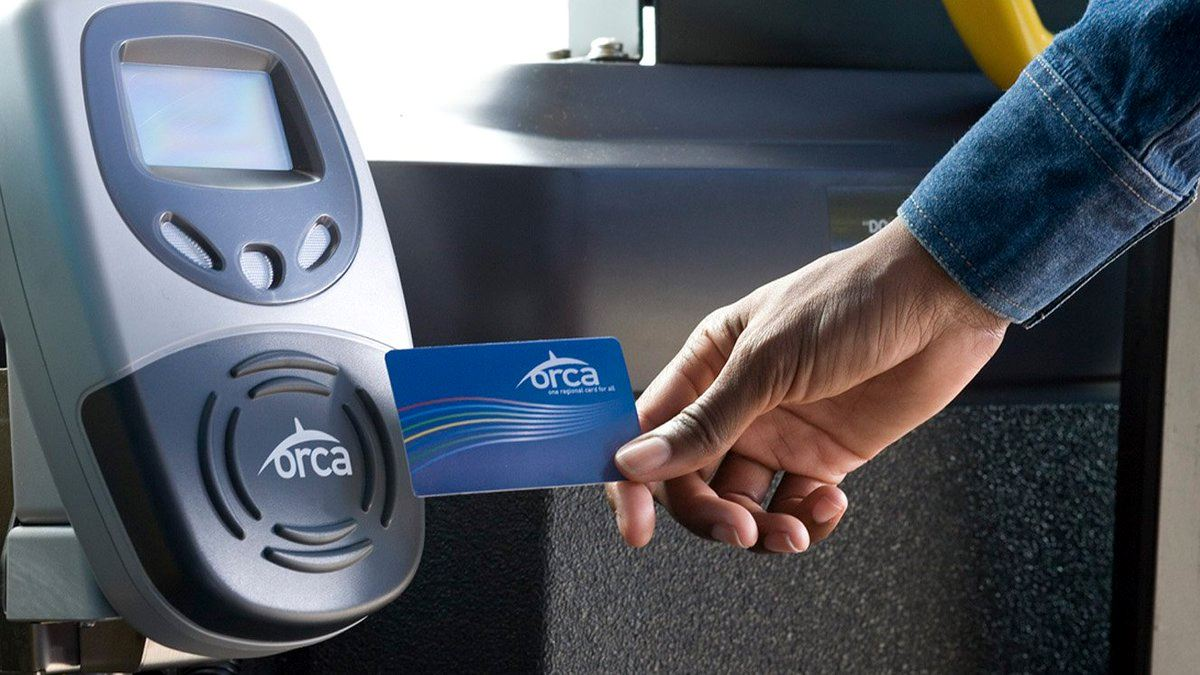 using an orca card